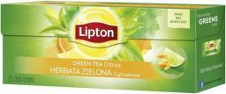 Lipton Green Tea herbata zielona Cytryna 25 torebek