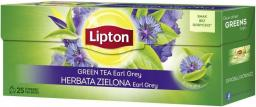Lipton Green Tea herbata zielona Earl Grey 25 torebek