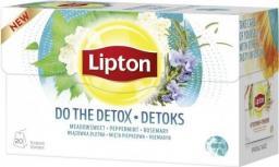 Lipton Herbata ziołowa Detoks 20 torebek