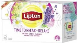 Lipton Herbata ziołowa Relax 20 torebek
