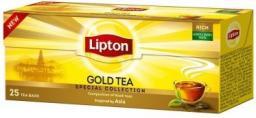 Lipton Kompozycja czarnych herbat Gold Tea 25 torebek