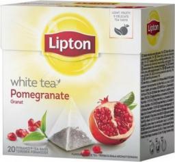 Lipton White Tea herbata biała Granat 20 piramidek