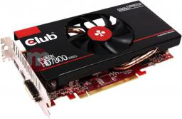 Karta graficzna Club 3D HD7850 1GB GDDR5 860MHz DP HDMI DVI CoolStream (CGAX-7852F)