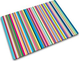 Deska do krojenia Joseph Joseph szklana Thin Stripes 40x30cm