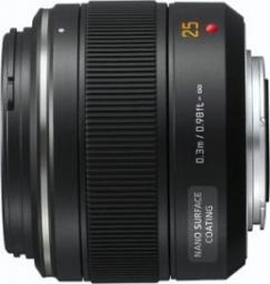 Obiektyw Panasonic Leica DG Summilux 25mm F1.4 ASPH czarny (H-X025E)