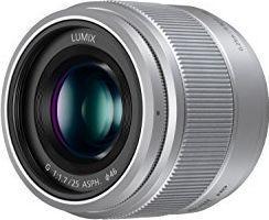 Obiektyw Panasonic Lumix G 25mm F1.7 srebrny (H-H025)