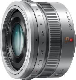 Obiektyw Panasonic Leica DG Summilux 15mm 1.7 ASPH srebrny (H-X015-S)