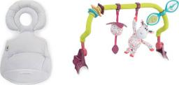 Chicco Pałąk z zabawkami + wkładka redukcyjna na krzesełko Polly Progress 0m+