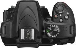 Lustrzanka Nikon Nikon D3500 + obiektyw AF-S DX 18-105 VR Czarny