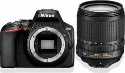 Lustrzanka Nikon D3500 + obiektyw AF-P DX 18–55 VR Czarny