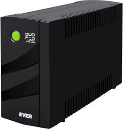 UPS Ever Duo 550 AVR USB + listwa VARIANT IEC 2m (T/DAVRTO-000K55/00+VARIANT IEC)