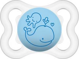 MAM Air smoczek niebieski z wielorybem 2-6M+ (MAM099)