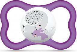 MAM Air smoczek ze słoniem fioletowy 6M+ (MAM101)