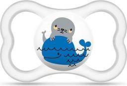 MAM Air smoczek z wielorybem przezroczysty 16M+ (MAM095)