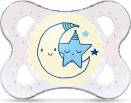 MAM Night Smoczek niebieski księżyc 2-6M (MAM178)