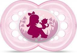 MAM Original Smoczek dziewczynka z kotkiem różowy 16M+ (MAM110)