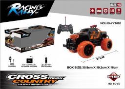 Brimarex Samochód RC cross country 1:16 czarny