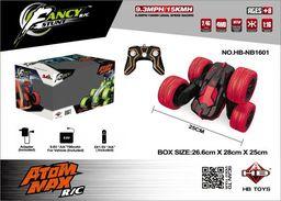 Brimarex Samochód RC Atom Max 1:16 czarno-czerwony