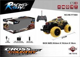 Brimarex Samochód RC cross country 1:16 czarno-żółty