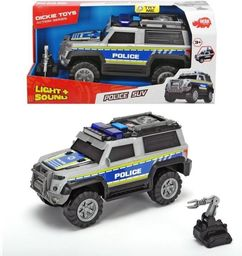 Dickie Samochód RC Policja SUV srebrny 30cm