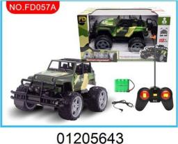 Dromader Jeep wojskowy na radio (FD057A)