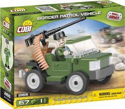 Cobi Small Army Pojazd patrolowy Straży Granicznej 67 elementów (2166)