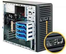 Obudowa serwerowa SuperMicro CSE-731D-300B