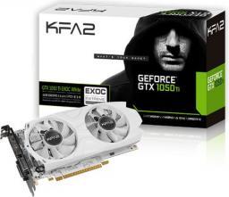 Karta graficzna KFA2 GTX 1050Ti EXOC WHITE 4GB, DP 1.4/HDMI/DVI