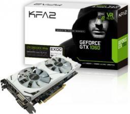 Karta graficzna KFA2 GTX 1060 EXOC White 6GB, DP 1.4/HDMI/DVI
