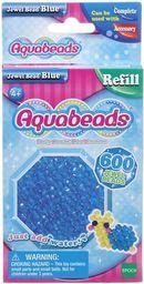 Epoch Aquabeads Niebieskie koraliki-klejnociki