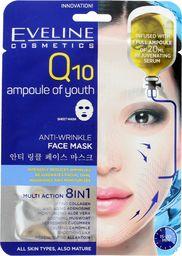 Eveline Q10 Anti-Wrinkle 8w1 Maska na tkaninie 1 szt.