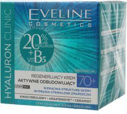 Eveline Krem do twarzy Hyaluron Clinic 70+ regenerujący 50ml
