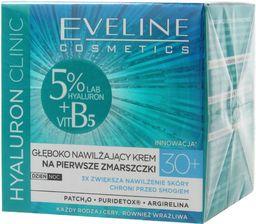 Eveline Krem do twarzy Hyaluron Clinic 30+ nawilżający 50ml
