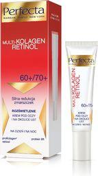 Perfecta Krem pod oczy Multi-Kolagen Retinol 60+/70+ przeciwzmarszczkowy 15ml