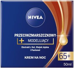Nivea Krem do twarzy 65+ przeciwzmarszczkowy 50ml