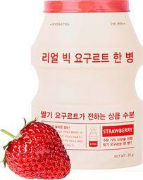 Apieu Real Big Yogurt One-Bottle Strawberry Rozjaśniająca maseczka 21g