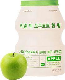 Apieu Real Big Yogurt One-Bottle Apple Wygładzająca maseczka 21g