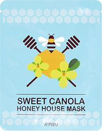 Apieu Sweet Canola Honey Hose Mask CanolaHoney Ujędrniająco-nawilżająca maseczka 23g