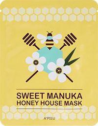 Apieu Sweet Honey Hose Mask Manuka Honey Odżywczo-rozświetlająca maseczka 23g