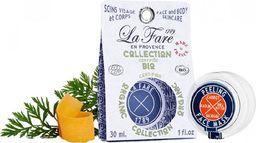 La Fare 1789 Peeling Face Mask Kaolin&Carrot&Shea Butter&Macadamia 30ml