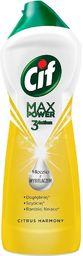 Cif CIF_Max Power 3 Action mleczko z wybielaczem do czyszczenia powierzchni Citrus Harmony 1001g