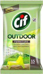 Cif CIF_Outdoor Furniture chusteczki do czyszczenia mebli ogrodowych i balkonowych 15szt