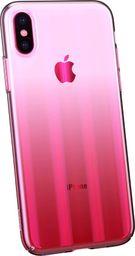 Baseus Cieniowane etui ombre Apple iPhone XS / X różowy (WIAPIPH58-JG04)