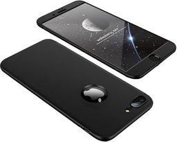 Hurtel 360 Protection etui na całą obudowę przód + tył iPhone 8 Plus / 7 Plus czarny