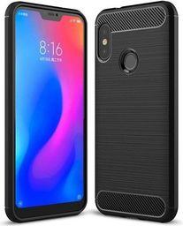 Hurtel Carbon Case elastyczne etui pokrowiec Xiaomi Mi A2 Lite / Redmi 6 Pro czarny