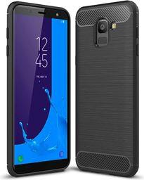 Hurtel Carbon Case elastyczne etui pokrowiec Samsung Galaxy J6 2018 J600 czarny