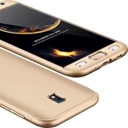 Hurtel 360 Protection etui na całą obudowę przód + tył Samsung Galaxy J5 2017 J530 złoty