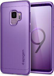 Spigen Nakładka Thin Fit 360 + szkło do Samsung Galaxy S9 fioletowa