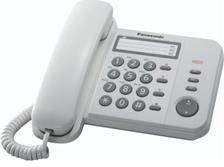 Telefon przewodowy Panasonic KX-TS520PDW