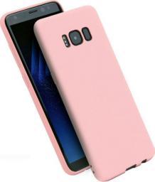 Etui Candy Samsung A530 A8 2018 jasnoróż owy/light pink